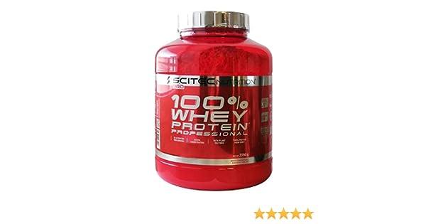 Scitec Nutrition 100% Whey Protein Professional 2350g 1 paquete de proteína de suero de leche en polvo en polvo (Chocolate Cookies&Cream)