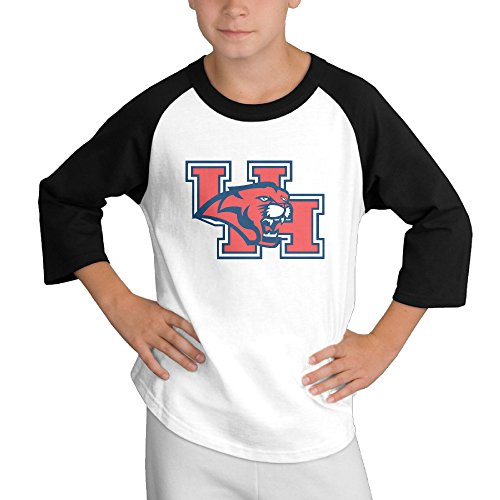 Price comparison product image MULTY9 University Of Houston Child Youth 3/4 Raglan T-Shirt Top Small