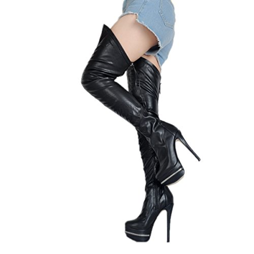 KiwiCedar Women's Boots (10.5, Black) by KiwiCedar