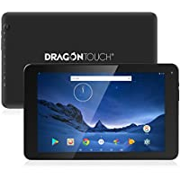 Dragon Touch V10 10.1 inch Tablet Android 7.0 Nougat MTK Quad Core 1GB RAM 16GB Storage, 800x1280 IPS Display with Bluetooth 4.0 and Mini HDMI GPS