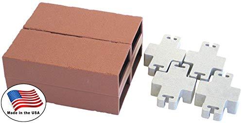 - Let's Edge It! Decorative Plastic Brick Edging, Terra Cotta, 4-Pack - Argee RG874
