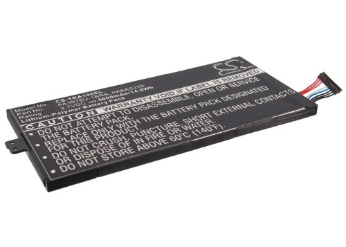 5000mAh Replacement Battery For TOSHIBA PA3978U-1BRS, PABAS255 (1brs Toshiba Replacement)