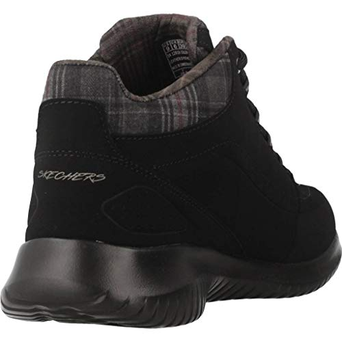 Flex Boots Chill Just 12918 Air Cooled Women Ultra Bbk Black Skechers axTUH5p