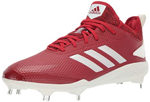 best sneakers 0c6ee ac1bc adidas Men s Adizero Afterburner V, Power red Cloud White Black 7.5 ...