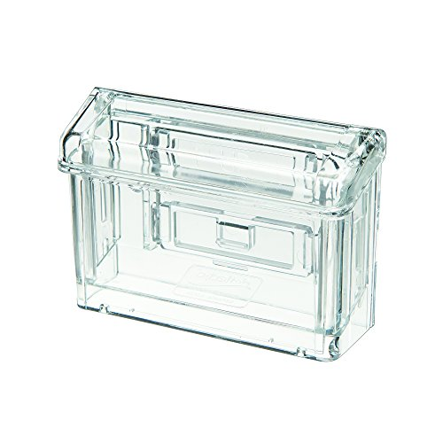 - Deflecto Grab-A-Card Outdoor Business Card Holder, 4 1/4