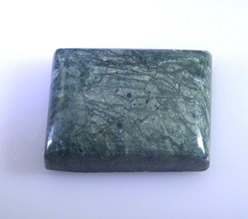 jaspe vert émeraude lâche de pierres précieuses coupe cabochon 1 pc 19x26 mm stgrjas-320003