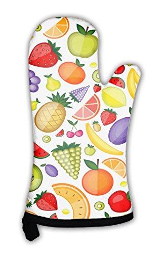 Gear New Oven Mitt, Fruits Pattern For Your Design, GN819759 (Cherry Fresh Oven Mitt)