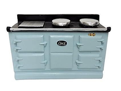 Amazon.com: Melody Jane casa de muñecas 4 Lt azul de horno ...