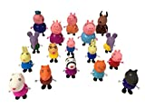 Toys : Mr Bigz 17 in 1 Mini Pig Family and Friends Set