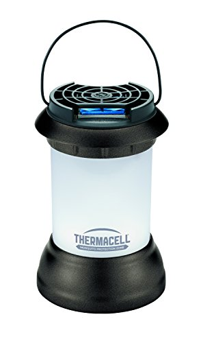 Repellent Lamp Mosquito (Thermacell Mosquito Repellent Patio Shield Bristol Lantern; Lantern Light Plus Silent, Scent-Free Mosquito Repellent Providing 15-Foot Zone of Protection; No Spray or Chemicals on Skin)