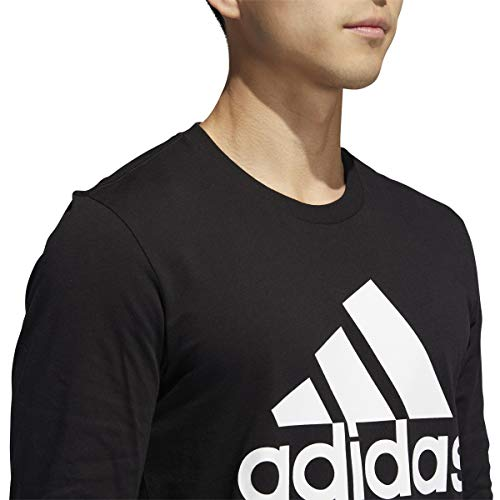 adidas Men's Basic Badge of Sport Long Sleeve Tee 5