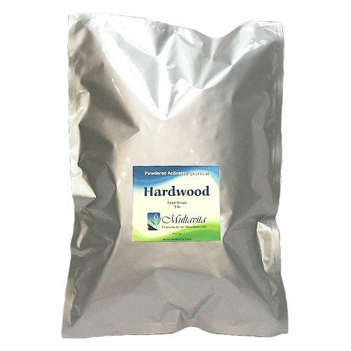 5 lb Hardwood Activated Charcoal Powder in Mylar Bag by Multavita