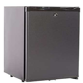 Smad Super Quiet Hotel Refrigerator ,12V/110 volt,1 Cu.ft.,Black