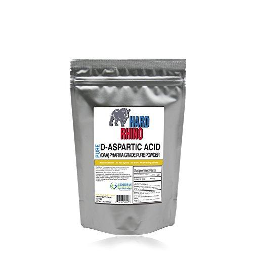 Чистый D-аспарагиновая кислота (DAA) Навалом Порошок. Pharma класса. (125G)