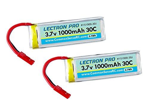 Lectron 1000mAh Battery Connector Dromida