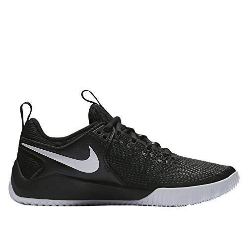 Nike Womens Zoom Hyperace 2 Volleyball Shoe (8.5 M US, Black/White)