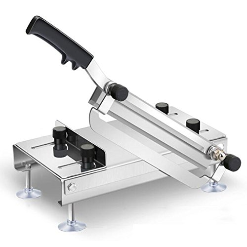 - Slicer Stainless Steel Household Manual Lamb Roll Slicing Machine Nougat Chinese Herbal Medicine Commercial Cutting Machine,OneColor