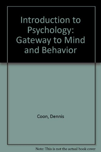 Introduction to Psychology: Gateway to Mind and Behavior