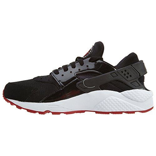 Nike Air Huarache Bred Men Lifestyle Casual Sneakers New Black Gym Red – 8.5