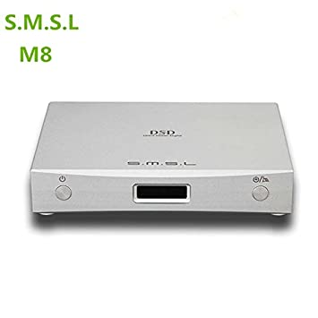 SMSL New M8 USB DAC Decodificador xmos Optical coaxial Asynchronous 32bit/384khz dsd Digital to