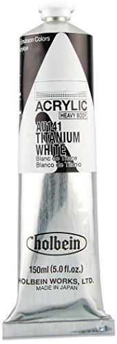Holbein - Artist Heavy Body Acrylic - 150ml Tube - Titanium White