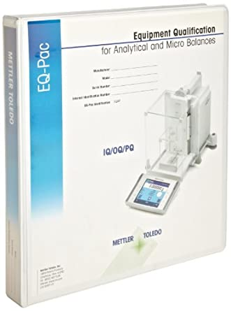 Mettler Toledo Analytical and Micro Balance Equipment Qualification Package, with 12 Month Extended Warranty
