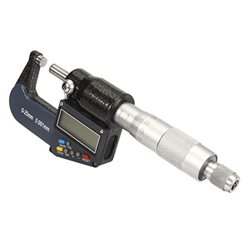 uxcell 1-inch/25mm Digital Digimatic Outside Micrometer w...