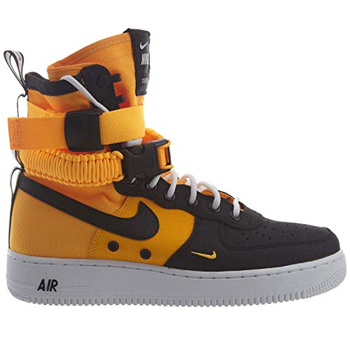 (Nike SF Air Force 1 Men's Shoes Laser Orange/Black/White 864024-800 (8 D(M) US))