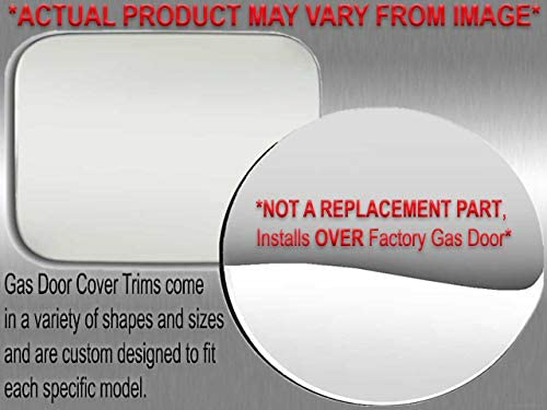 QAA fits 1996-2002 Toyota 4Runner 1 Piece Stainless Gas Door Cover Trim GC22178
