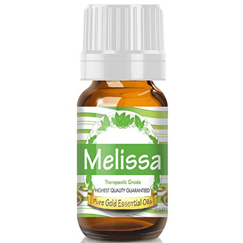 - Melissa Essential Oil (Premium Grade Essential Oil) 10ml - Best Therapeutic Grade - Perfect for Your Aromatherapy Diffuser, Relaxation, More!