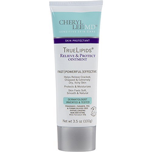 TrueLipids Relieve & Protect Ointment Sensitive Skin Care for Dry Skin