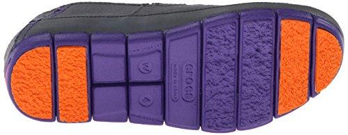 Crocs - Plan Sole Mocassins femmes, EUR: 37.5, Charcoal/Ultraviolet