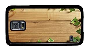 Hipster Samsung Galaxy S5 Case cassette covers wood plant PC Black for Samsung S5