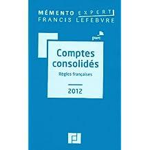 MÉMENTO COMPTES CONSOLIDÉS 2012