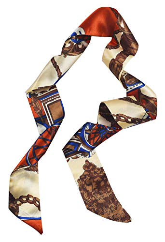 Handbag Handle Ribbon Scarf Package Silk Band Fashion Hair Head Band ()