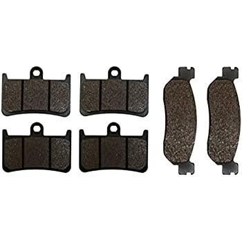 Front Rear Brake Pads for Yamaha YZF-R6 YZF600 1999~2002 YZFR1 YZF1000 2002~2003