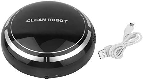 PETUNIA Mini Aspiradora Inteligente Eléctrica Automática Redonda Inteligente Aspirador Robot (Negro): Amazon.es: Hogar