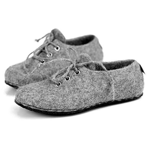 BureBure Felted Wool Sneakers for Men Handmade in Europe
