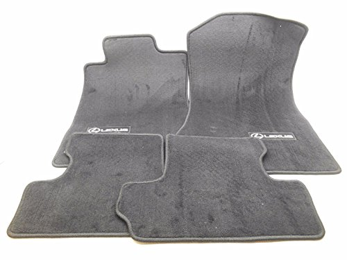 Toyota Genuine Parts PT208-53093-02 OEM Lexus ISC Black Carpet Floor Mat Set ()