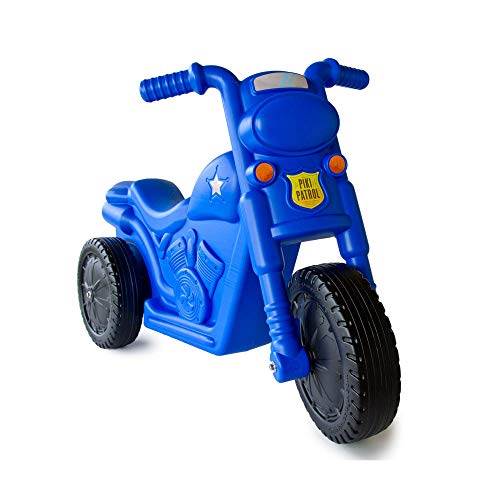 The Piki Piki Bike | Durable Easy To Ride Toddler Bike, Made In The USA (Blue)