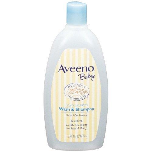 Aveeno Baby Wash and Shampoo – 18 Oz 2/pack