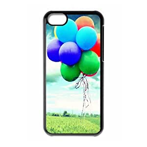 XiFu*Meiipod touch 4 Case,Colorful Flying Balloons Hard Shell Back Case for Black ipod touch 4 Okaycosama355393XiFu*Mei