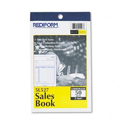 Sales Book, 4 1/4 X 6 3/8, 50 Sets/Book [Set of 2]