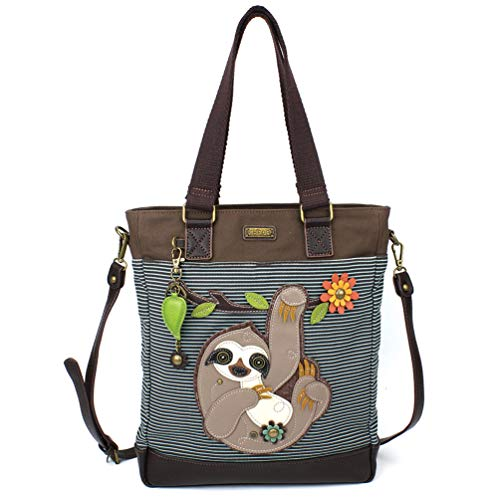 Chala Work Tote - Sloth - Blue Stripe ()