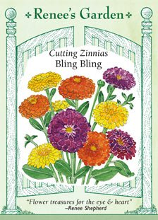 Zinnia - Bling Bling Seeds