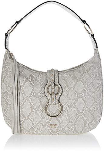 Python Shoulder Handbag Bag Purse - Guess Dixie, Women's Shoulder Bag, Multicolour (Natural Python/Npy), 40x33x14.5 cm (W x H L)