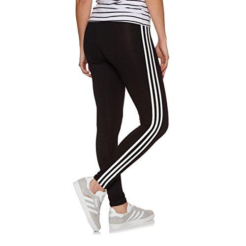adidas Damen 3 Streifen Leggings 3 Streifen, Schwarz (Black), 40 (Herstellergröße: 14)