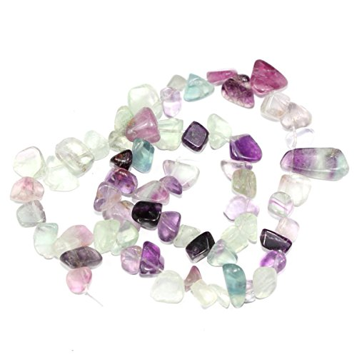 AAA Natural Purple Fluorite Gemstones Smooth Teardrop Loose Beads Free-form ~18x10mm beads ( ~16