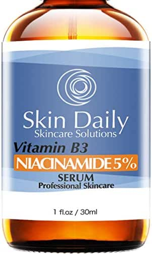 Niacinamide Serum for Face 5%- 1 Oz - Vitamin B3 Cream Visibly Beautify Pores and Wrinkles and Other Signs of Aging - Superior Moisturizing Skin Brightening Facial Serum - Your Friends Will Notice
