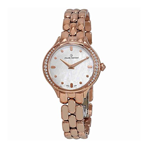 Claude Bernard Dress Code Mother of Pearl Dial Ladies Watch 20217 37RPM NAIR